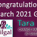 Congratulations Tara M. – Gilgal's March 2021 Graduate