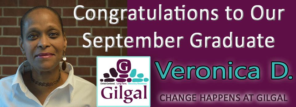 Congratulations Veronica – September 2020 Graduate